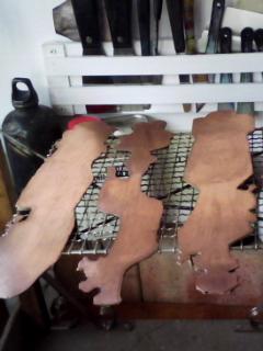 銅板の網焼き!